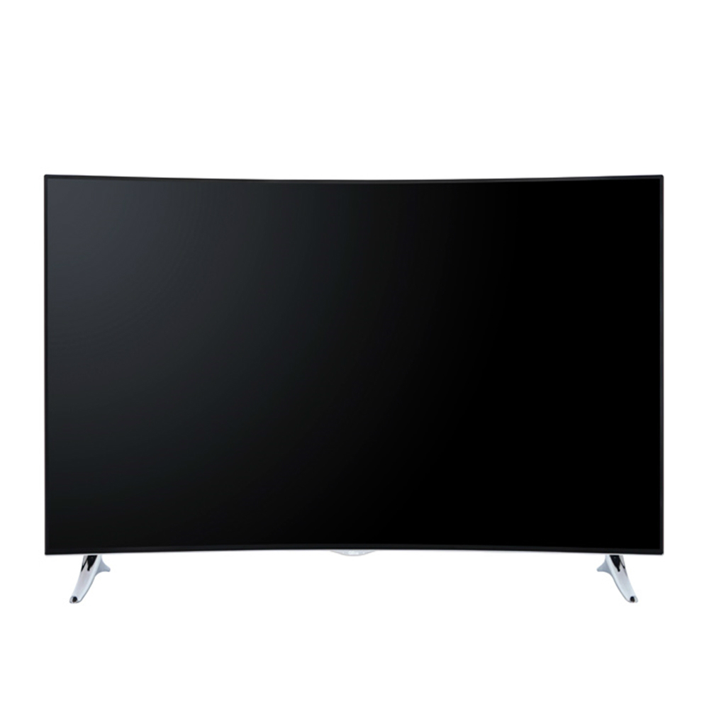 Televizor LED Smart Curbat Ultra HD Qilive cu diagonala de 140cm