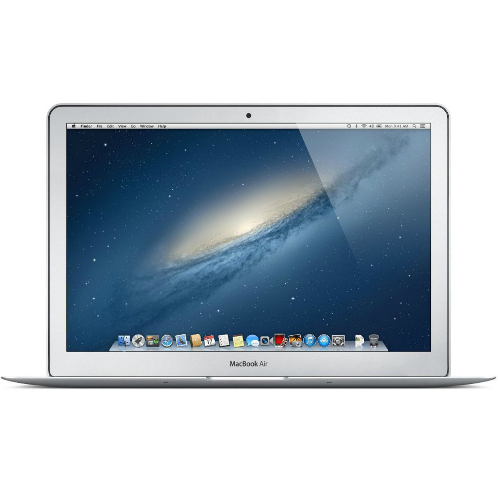 Laptop Apple Macbook Air argintiu MJVG2ZE cu ecran de 13 inch si SSD de 256GB