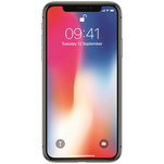 Telefon mobil Apple iPhone X Space Gray 4G cu memorie de 64GB si ecran de 5.8 inch