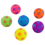 Minge de fotbal One Two Fun, 6.5 cm, diverse culori