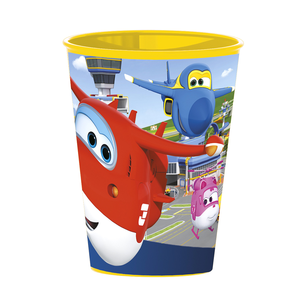 Pahar din plastic Superwings, 260 ml
