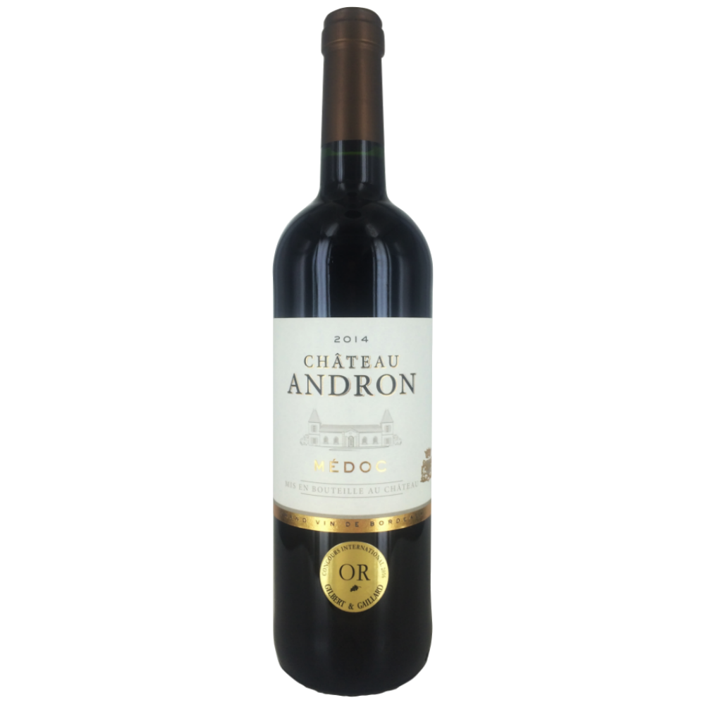Vin rosu Medoc Chateau Andron 2014 0.75L