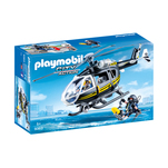 Set Playmobil City Action Tactical Police Unit - Elicopterul echipei SWAT