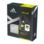 Set cadou Adidas Pure Game cu after shave si deodorant