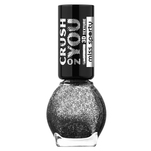 Lac de unghii Miss Sporty Crush On You, 062 Cosmic Black , 7 ml