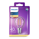 Bec LED Classic Philips 40W P45 E14 WW CL ND RF 1BC