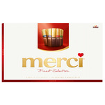 Mini ciocolate Merci Finest Selection 400g
