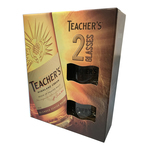 Whisky Teacher's, Scotch 0.7 l + 2 pahare