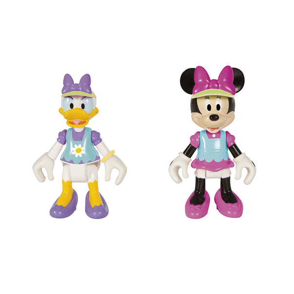 Set de joaca Minnie casuta Happy Helpers, diverse culori