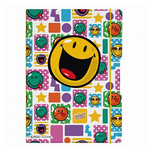 Caiet Herlitz Smiley Happy A4 cu 80 de file, dictanto + matematica