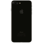 Telefon mobil Apple iPhone 7 Plus negru lucios 4G cu camera duala si memorie de 128GB
