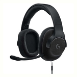 Casti gaming cu fir Logitech G433 over the ear, negre