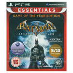 Joc Batman Arkham Asylum Game of the Year Essentials pentru Playstation 3