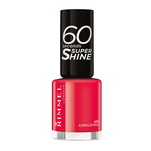 Lac de unghii Rimmel London 60 Seconds Shine, 430 Coralicious, 8 ml