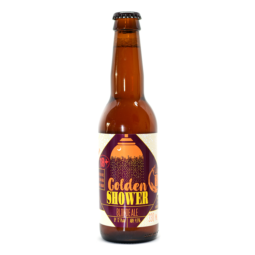 Bere blonda Golden Shower, 0.33L