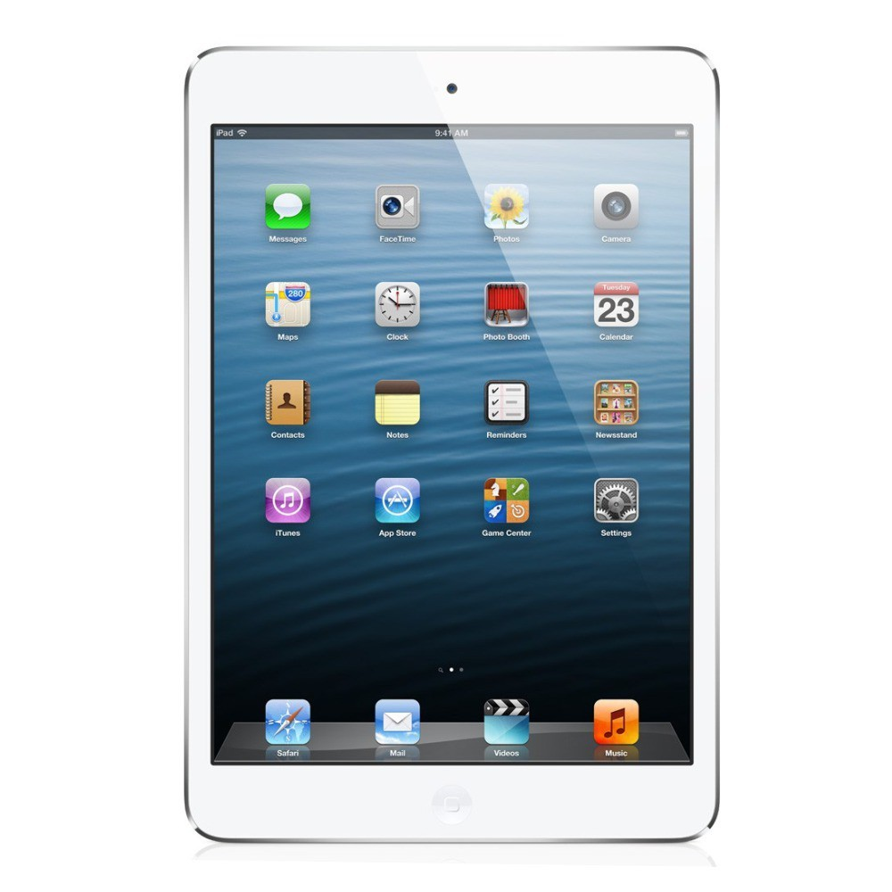 Tableta Apple iPad Mini 4 argintie Wi-Fi cu ecran de 7.9 inchi si memorie de 16GB