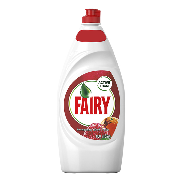 Detergent de vase Fairy Pomegranate & Orange, 800 ml