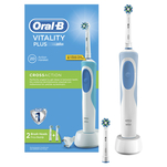 Periuta de dinti electrica Oral-B Vitality Plus Cross Action cu 2 capete de periaj