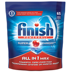 Detergent pentru masina de spalat vase Finish All in One Max 65 tablete