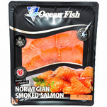 File de somon afumat Ocean Fish, 100g