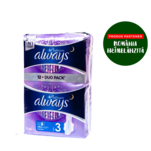 Absorbante Always Platinum Ultra Night Duo Pack 12 bucati