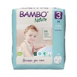Scutece Bambo Nature Eco-Friendly size 3, 4-8 kg, 28 bucati