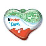 Ciocolata in forma de inimioare Kinder Love 37 g