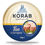Ton Korab in ulei vegetal 160 g