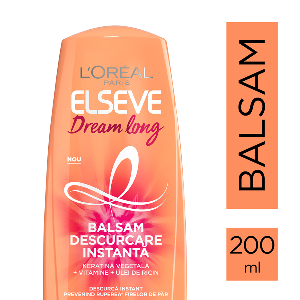 ELSEVE Dream Long Balsam descurcare usoara 200ml