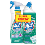 Pachet promotional: Spray Ace Universal, 650 ml si  Decalcifiant Ace Gel, 700 ml