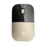 Mouse Wireless HP Z3700 Auriu cu rezolutia de 1200 dpi