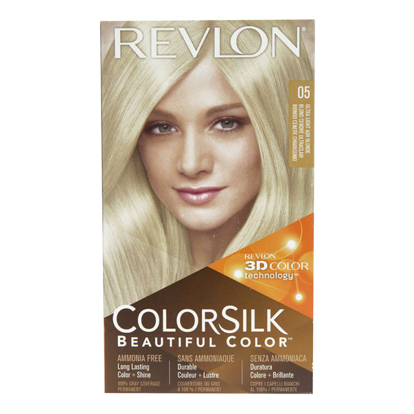 Vopsea De Par Revlon Colorsilk 05 Ultra Light Ash Blonde Auchan
