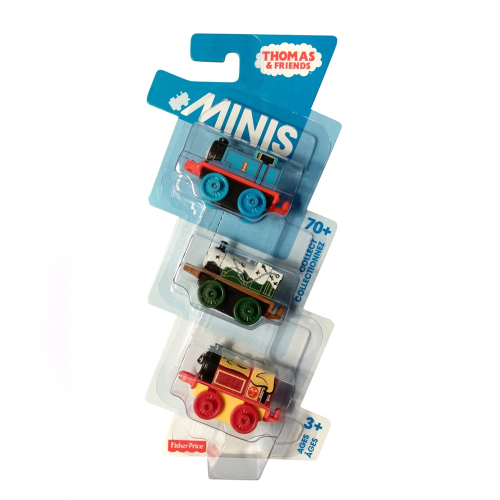 Thomas & friends minis 3 bucati, 20.7 x 2.5 x 9 cm