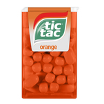Drajeuri Tic Tac orange 18g