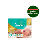 Scutece Pampers Premium Care Mega Box 2 Mini, 3-6 Kg, 148 bucati