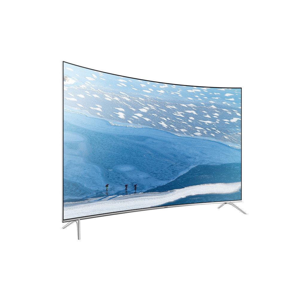 Televizor LED Smart Curbat Samsung, 197cm, 78JU7500, 4K Ultra HD