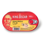 Macrou in ulei King Oscar 170g