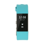 Bratara fitness Fitbit Charge 2 Teal Silver Small cu conectivitate Bluetooth 4.0
