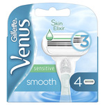 Rezerve de ras Venus Smooth Sensitive, 4 bucati