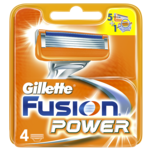 Aparate de ras Gillette Fusion Power, 4 bucati