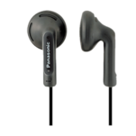 Casti in ear Panasonic RP-HV095E-K Super Leader cu mufa aurita