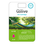 Cartus magenta Qilive 12ml compatibil Epson TO71340