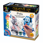 Kit creativ D-Toys Color Me Plus - Animale de companie
