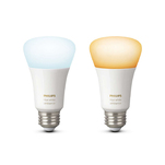 Kit Philips Hue White Ambiance format din 2 becuri