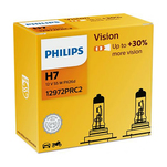 Bec Philips Auto Vision H7, 12 v, 2 bucati
