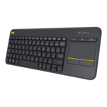 Tastatura wireless Logitech K400 Plus cu trackpad integrat