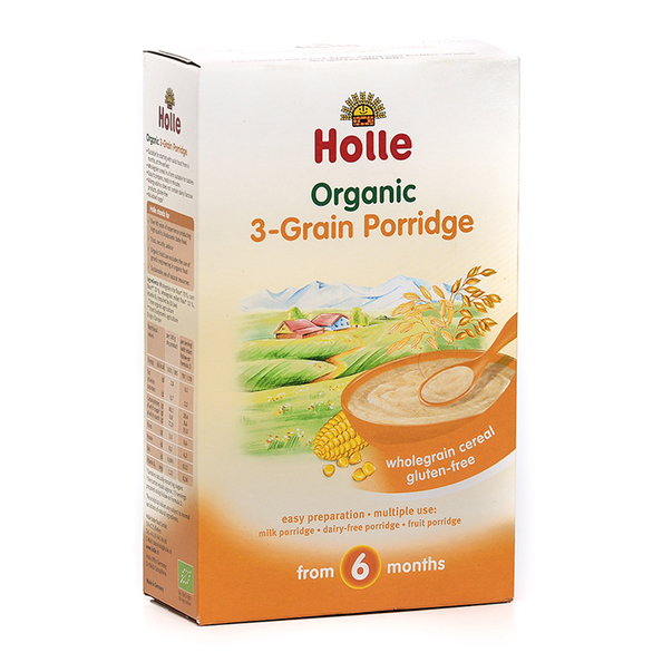 Mix din 3 cereale Holle Eco 250g