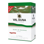 Vin alb demisec Val Duna, Cupaj Alb, 3L, Bag in box