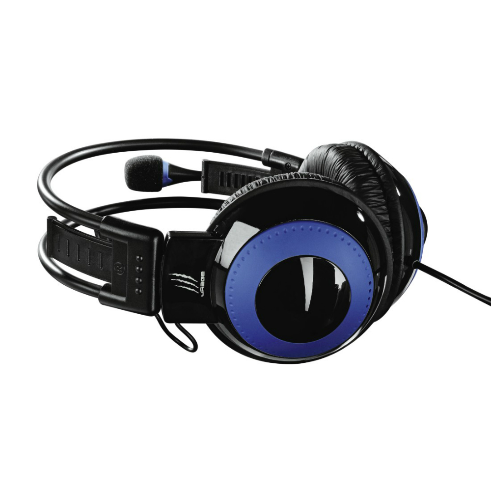 Casti gaming Hama uRage Vibra over the ear cu fir