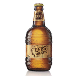Bere blonda Efes Draft sticla 0.5 L